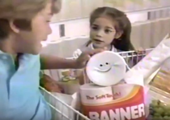 GH Becky Herbst in a commercial