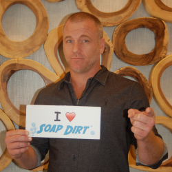 Sean Carrigan Loves Soap Dirt