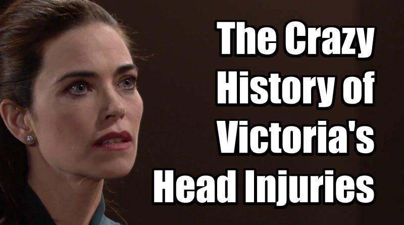 Victoria Newman's Head Injuries