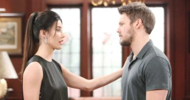 B&B's Scott Clifton and Jacqui Wood