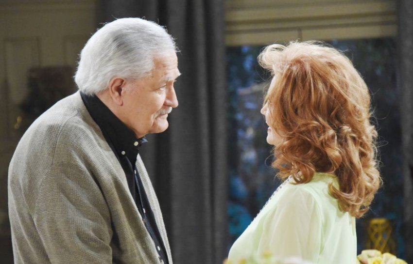 Days actor John Aniston on set