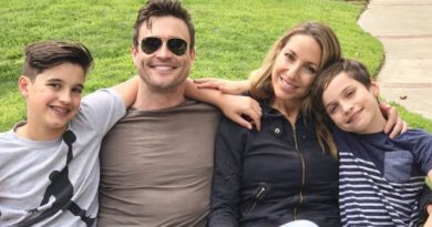 Young and the Restless - Daniel Goddard and Family