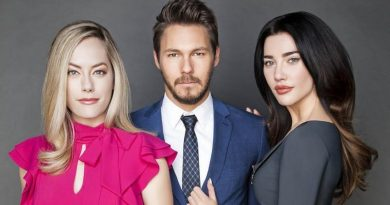 B&B's Annika Noelle- Scott Clifton- Jacqueline Wood