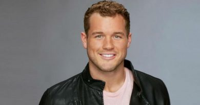 Colton Underwood talked about his ex.
