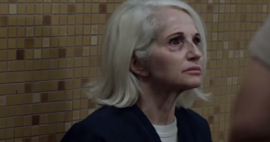 Animal Kingdom: Smurf in prison (Ellen Barkin)