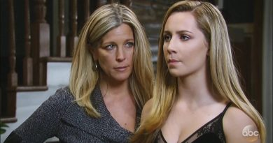 General Hospital - Eden McCoy (Josslyn Jacks) Carly Corinthos (Laura Wright)