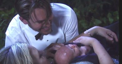 General Hospital - Maxie Jones - Peter August - Kirsten Storms - Wes Ramsey