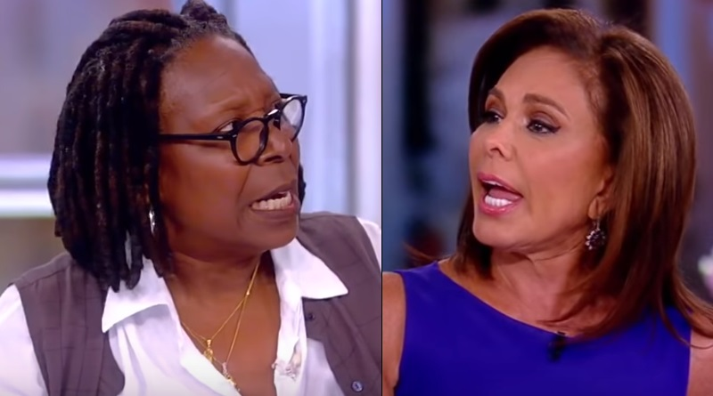 The View - Whoopi Goldberg - Judge Jeanine Pirro -Blow Up