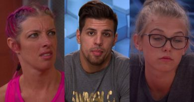 "Big Brother 20 FOUTTE: Angie ""Rockstar"" Lantry - Faysal Shafaat (Fessy) Haleigh Broucher"