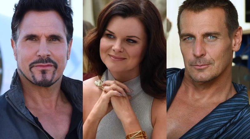 Bold and the Beautiful - Bill Spencer (Don Diamont) - Katie Logan (Heather Tom) - Thorne Forrester (Ingo Rademacher)
