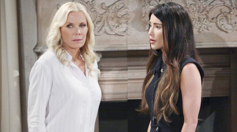 Bold and the Beautiful - Brooke Logan (Katherine Kelly Lang) - Steffy Forrester (Jacqueline MacInnes Wood)