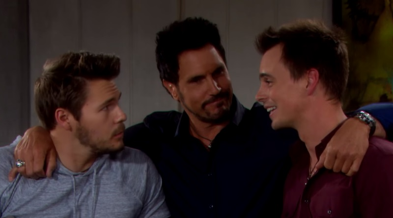 Bold and the Beautiful Liam Spencer-Scott Clifton - Bill Spencer- Don Diamont - Wyatt Spencer - Darin Brooks