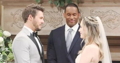 Bold and the Beautiful: Liam Spencer (Scott Clifton) - Carter Walton (Lawrence St Victor) - Hope Logan (Annika Noelle) - Wedding