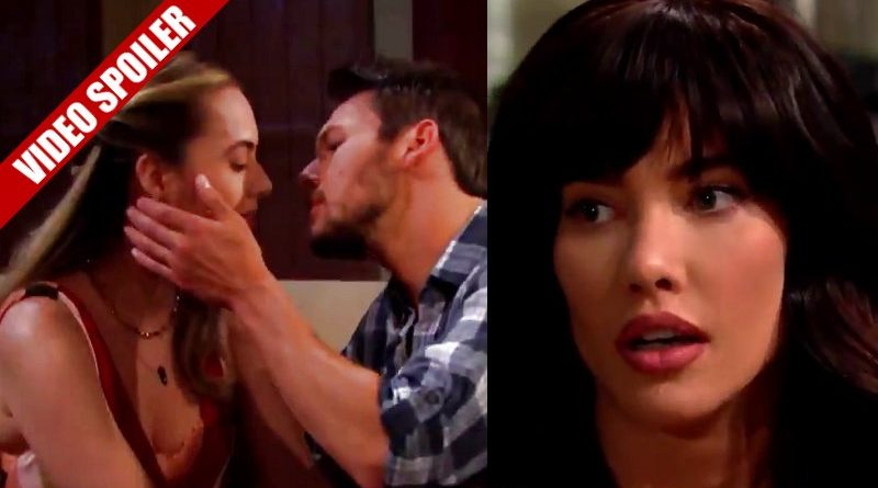 Bold and the Beautiful: Steffy Forrester (Jacqueline MacInnes Wood) - Hope Logan (Annika Noelle) - Liam Spencer (Scott Clifton)