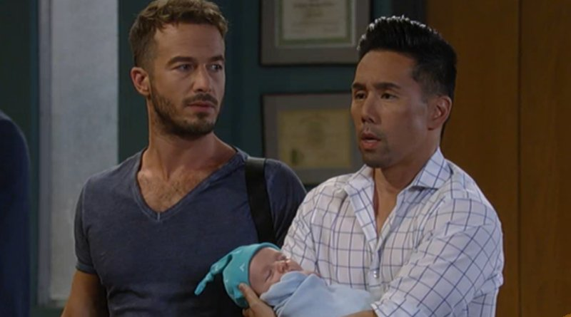 General Hospital - Lucas Jones (Ryan Carnes) - Brad Cooper (Parry Shen)
