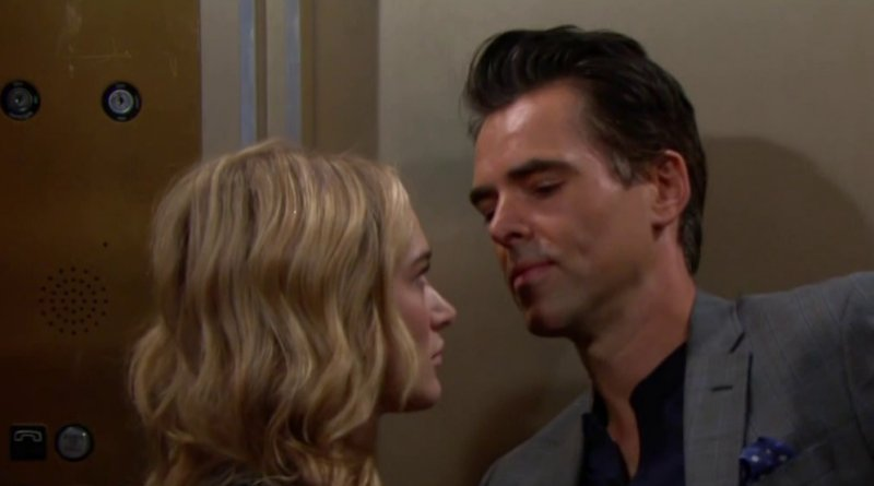 Young and the Restless: Summer Newman (Hunter King) - Billy Abbott (Jason Thompson)