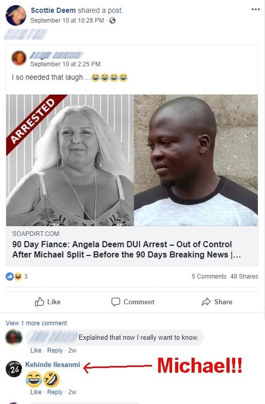 90-Day-Fiance: Michael-Ilesanmi-Angela-Deem-DUI
