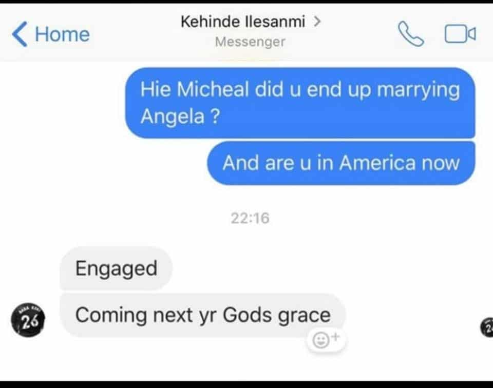 90 Day Fiance: Michael Ilesanmi message that he is engaged