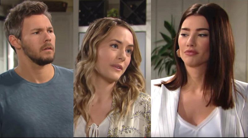 Bold and the Beautiful Liam Spencer (Scott Clifton) Hope Logan (Annika Noelle) Steffy Forrester (Jacqueline MacInnes Wood)