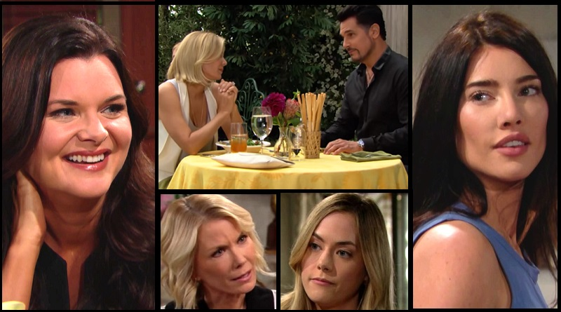 Bold and the Beautiful Spoilers: Katie Logan (Heather Tom) Brooke Logan (Katherine Kelly Lang) Hope Logan (Annika Noelle) Steffy Forrester (Jacqueline MacInnes Wood) Bill Spencer (Don Diamont)