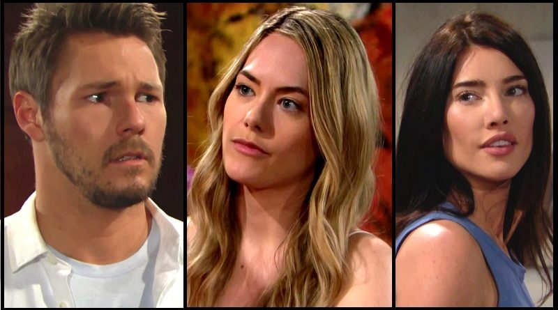 Bold and the Beautiful Spoilers: Liam Spencer (Scott Clifton) - Hope Logan - (Annika Noelle) - Steffy Forrester (Jacqueline MacInnes Wood)