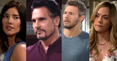 Bold and the Beautiful Spoilers - Steffy Forrester (Jacqueline MacInnes Wood) Bill Forrester (Don Diamont) Liam Spencer (Scott Clifton) Hope Logan (Annika Noelle)