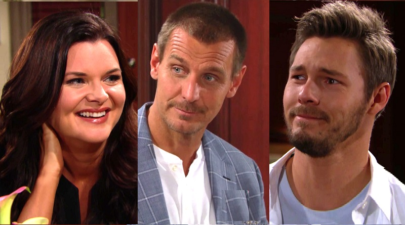 Bold and the Beautiful Spoliers 2 Weeks: Katy Logan (Heather Tom) Thorne Forrester (Ingo Rademacher) Liam Spencer (Scott Clifton)