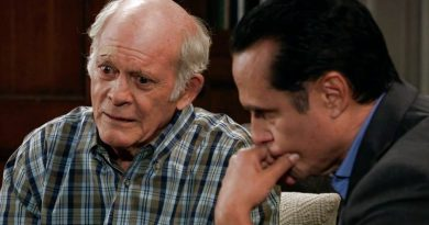 General Hospital Spoilers: Mike Corbin (Max Gail) - Sonny Corinthos (Maurice Benard)