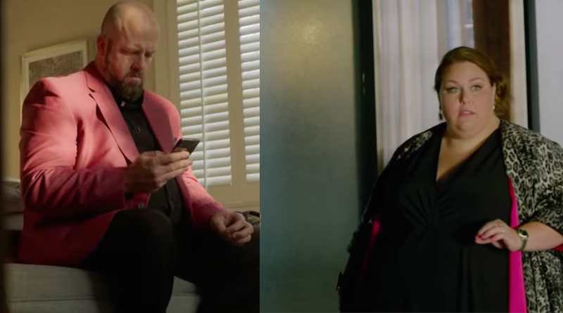 This Is Us spoilers: Toby Damon (Chris Sullivan) andKate Pearson (Chrissy Metz).