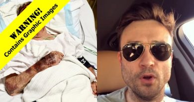 Young and the Restless: Cane Ashby (Daniel Goddard - Injured Dad