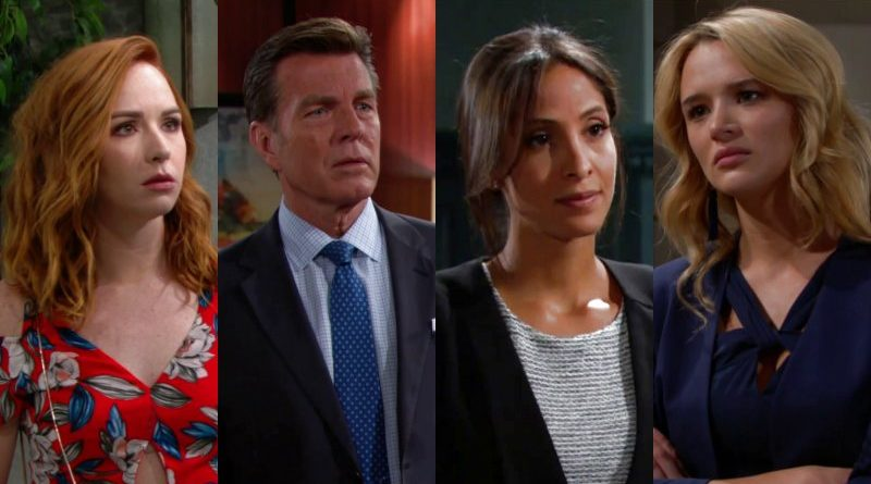 Young and the Restless: Lily Winters (Christel Khalil) - Jack Abbott (Peter Bergman)