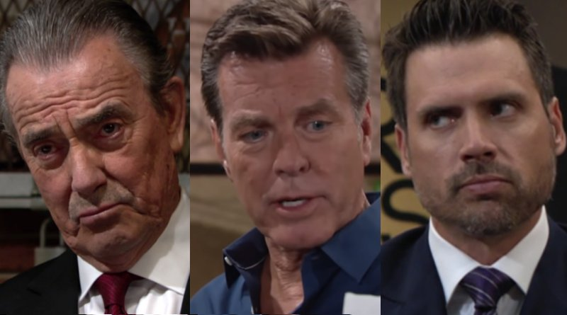 Young and the Restless Spoilers: Victor Newman (Eric Braeden) - Jack Abbott (Peter Bergman) - Nick Newman (Joshua Morrow)