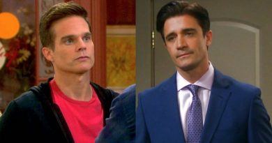 Days of Our Lives Spoilers: Leo Stark (Greg Rikaart) - Ted Laurent (Gilles Marini)