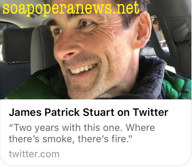 General Hospital Spoilers James Patrick Stuart on Twitter