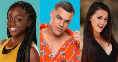 Big Brother: DaVonne Rogers - Josh Martinez - Natalie Negrotti