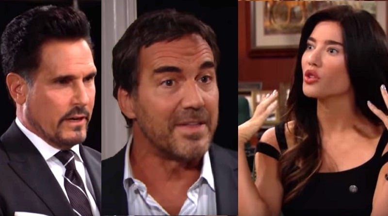 Bold and the Beautiful Spoilers: Bill Spencer (Don Diamont) - Ridge Forrester (Thorsten Kaye) - Steffy Forrester (Jacqueline MacInnes Wood)