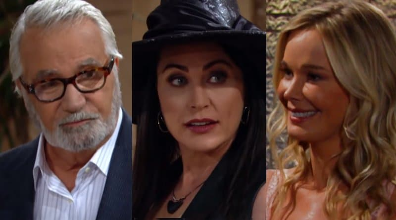 Bold and the Beautiful Spoilers: Eric Forrester (John McCook) - Quinn Fuller (Rena Sofer) - Donna Logan (Jennifer Gareis)