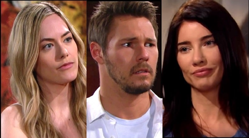 Bold and the Beautiful Spoilers: Hope Logan (Anikka Noelle) and Liam Spencer (Scott Clifton) Steffy Forrester (Jacqueline MacInnes Wood)