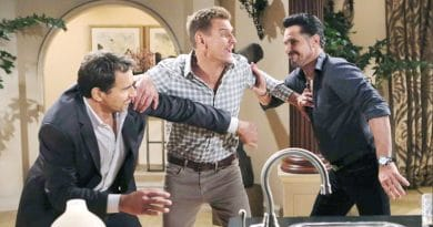 Bold and the Beautiful Spoilers: Ridge Forrester (Thorsten Kaye) - Thorne Forrester - (Ingo Rademacher) - Bill Spencer (Don Diamont)