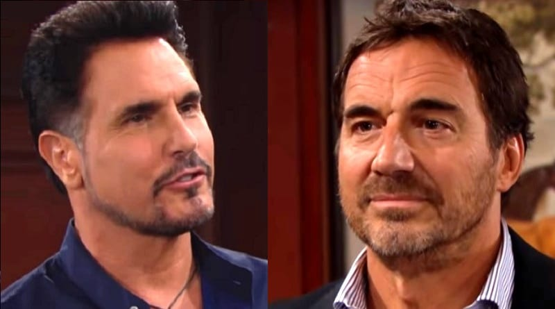 Bold and the Beautiful Spoilers: Bill Spencer (Don Diamont) - Ridge Forrester (Thorsten Kaye)