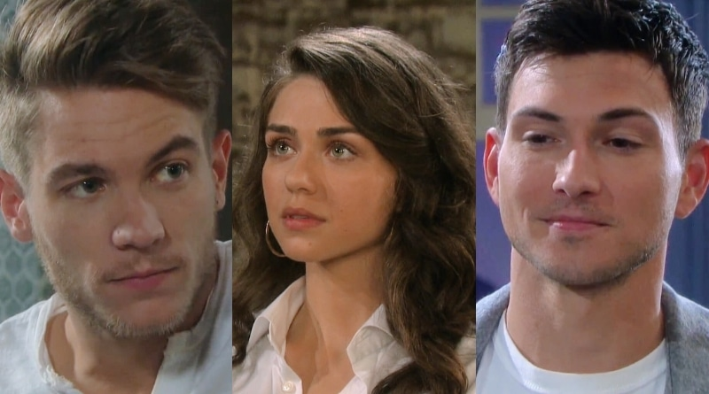 Days of Our Lives Spoilers: Tripp Dalton (Lucas Adams) - Ciara Brady (Victoria Konefal) - Ben Weston (Robert Scott Wilson)