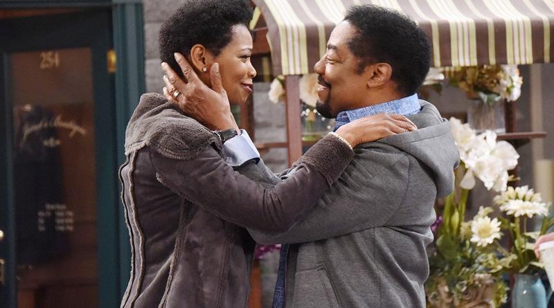 Days of Our Lives: Vanessa Williams (Valerie Grant) - James Reynolds (Abe Carver)