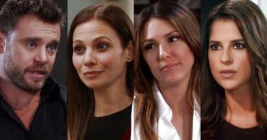 General Hospital Spoilers: Drew Cain (Billy Miller) - Kim Nero (Tamara Braun) - Margaux Dawson (Elizabeth Hendrickson) - Sam McCall (Kelly Monaco)