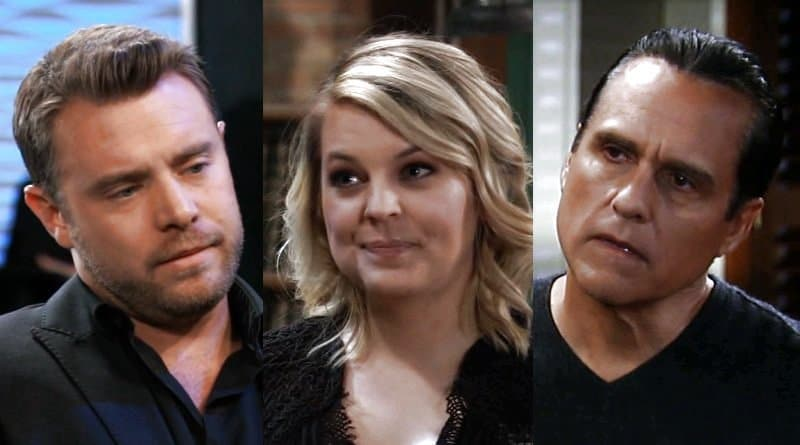 General Hospital Spoilers: Drew Cain (Billy Miller) - Maxie Jones (Kirsten Storms) - Sonny Corinthos (Maurice Benard)