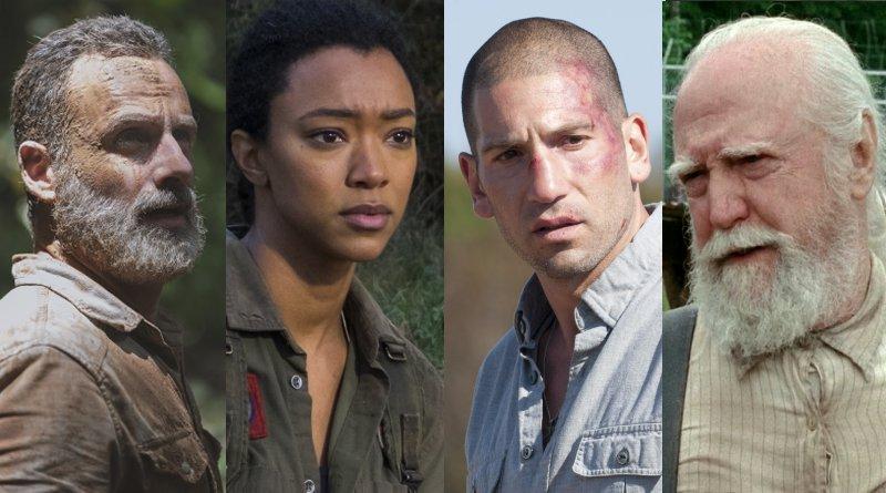 The Walking Dead Spoilers: Rick Grimes (Andrew Lincoln) - Sasha Williams (Sonequa Martin-Green) - Shane Walsh (Jon Bernthal) - Hershel Greene (Scott Wilson)