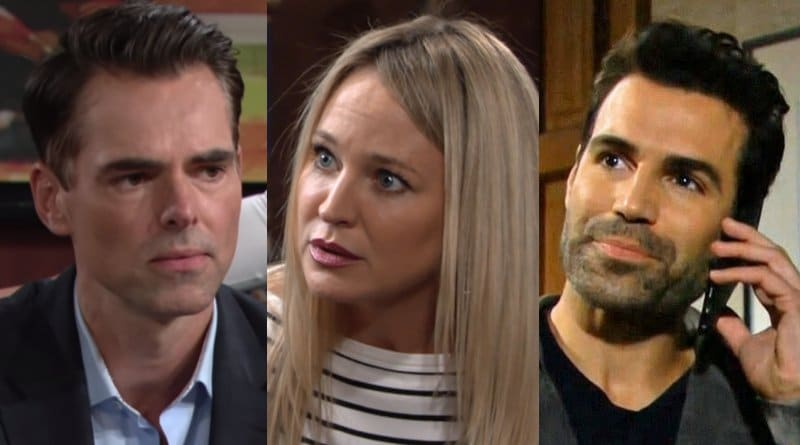 Young and the Restless Spoilers: Billy Abbott (Jason Thompson) - Sharon Newman (Sharon Case) - Rey Rosales (Jordi Vilasuso)