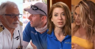 Below Deck: Captain Lee Rosbach - Chandler Brooks - Caroline Bedol - Kate Chastain