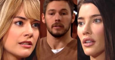 Bold and the Beautiful Spoilers: Hope Logan (Annika Noelle) - Liam Spencer (Scott Clifton) - Steffy Forrester (Bold-and-the-Beautiful-Hope-Logan-Annika-Noelle- Liam-Spencer-Scott-Clifton-Steffy-Forrester-(Jacqueline MacInnes Wood)