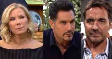 Bold and the Beautiful Spoilers: Brooke Logan (Katherine Kelly Lang)- Bill Spencer (Don Diamont) - Ridge Forrester (Thorsten Kaye)