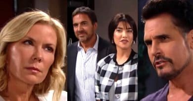 Bold and the Beautiful Spoilers: Brooke Logan (Katherine Kelly Lang) - Ridge Forrester (Thorsten Kaye) - Steffy Forrester (Jacqueline MacInnes Wood) - Bill Spencer (Don Diamont)
